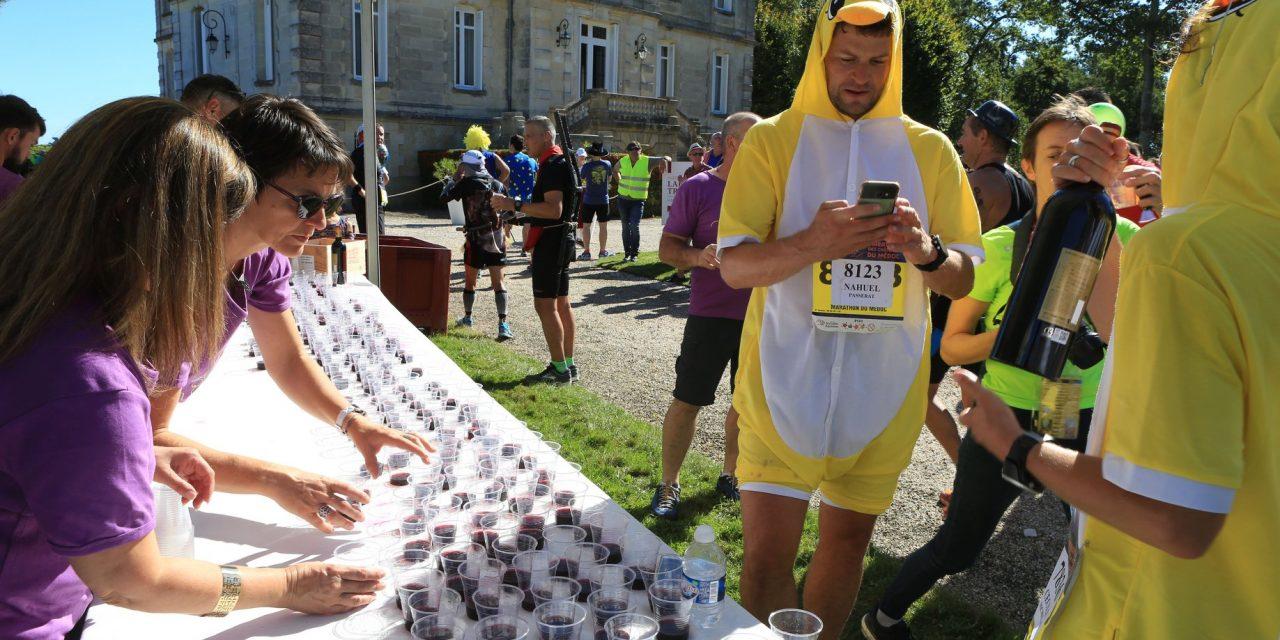 Le marathon où l'on boit du vin