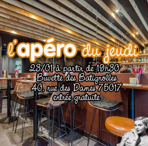 Apéro Découverte Nouveau Bar 17ème @ Buvette des Batignolles | Paris | Île-de-France | France