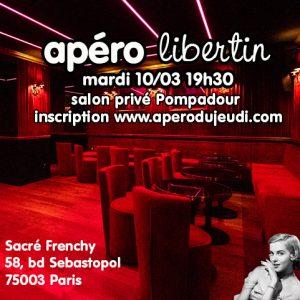 Apéro libertin @ Salon Privé Pompadour au Sacré Frenchy | Paris | Île-de-France | France