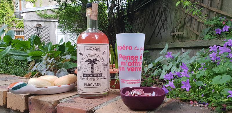 apero cocktail né sur une ile
