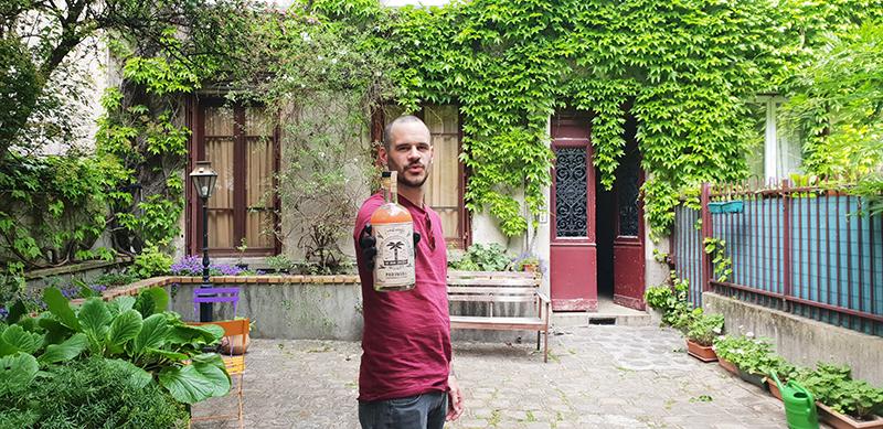 Des cocktails Né sur une Ile livrés sur Paris