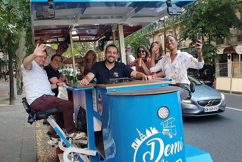 beer bike paris