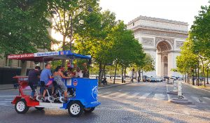 Beerbike tour de Paris