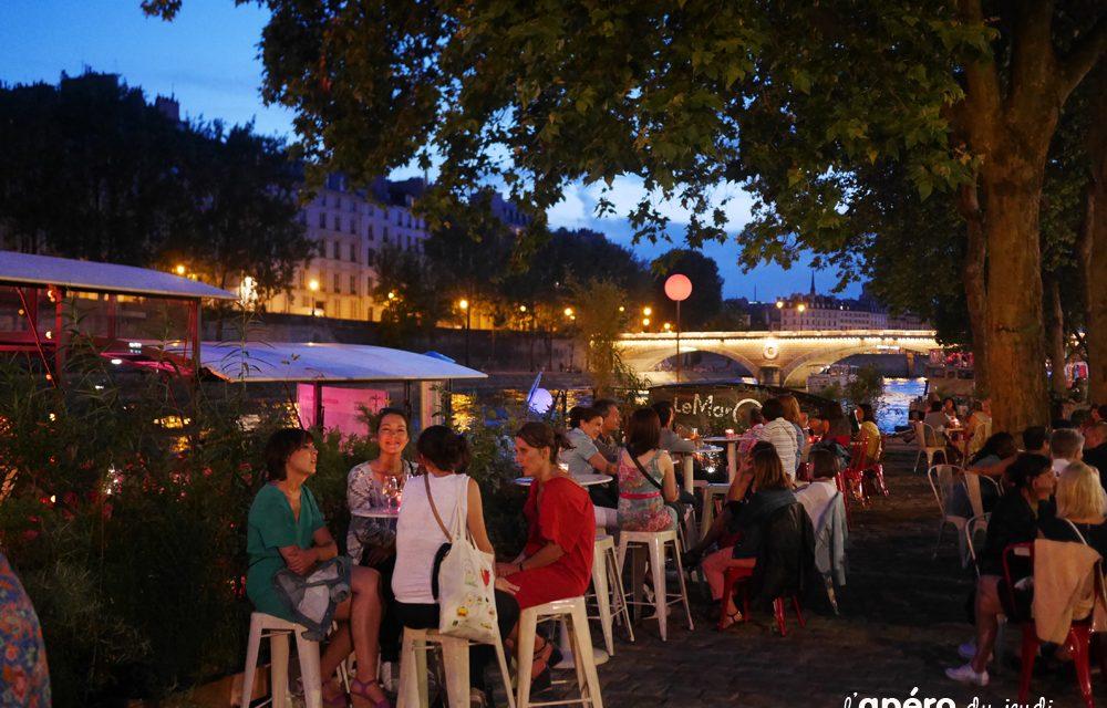 Les meilleurs terrasses de Paris pour prendre l'Apéro