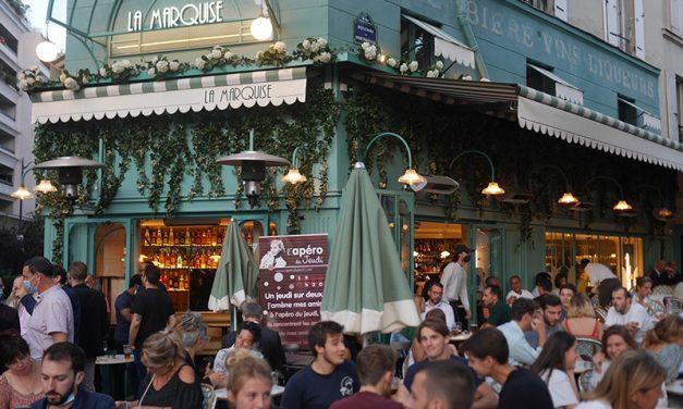Brasserie la Marquise à Montparnasse : une terrasse folie et une team aux petits oignons