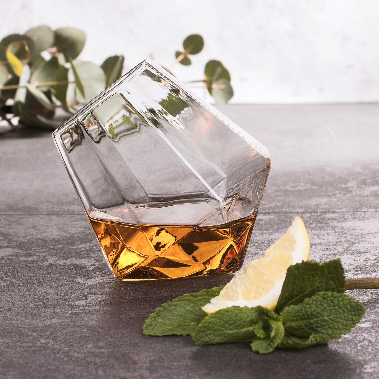 verre whisky diamant