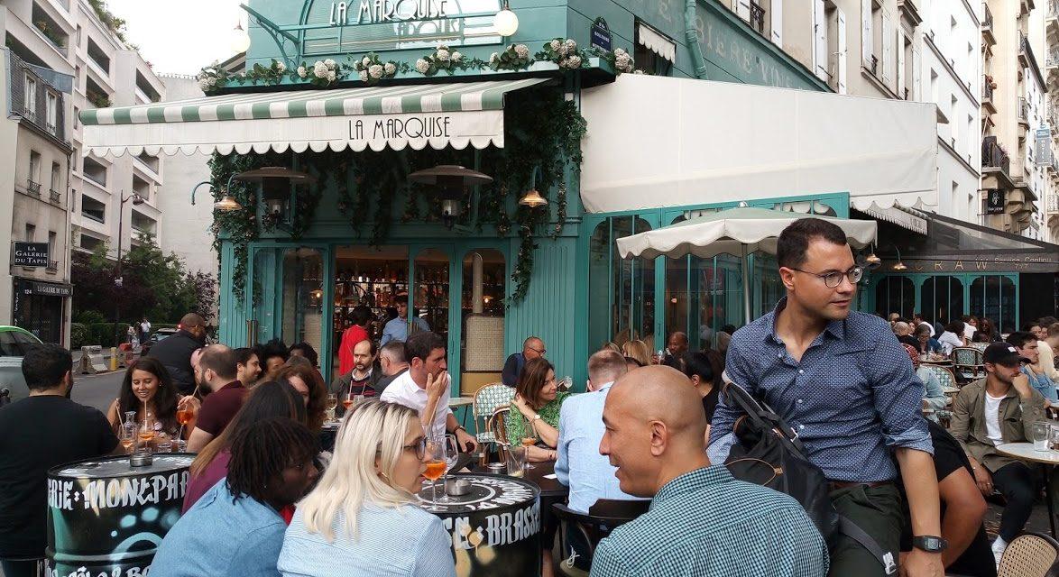 La Marquise, la plus belle terrasse de Montparnasse